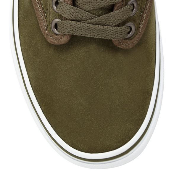 'Atwood' Vans olive suede trainers Dark qFBFnt