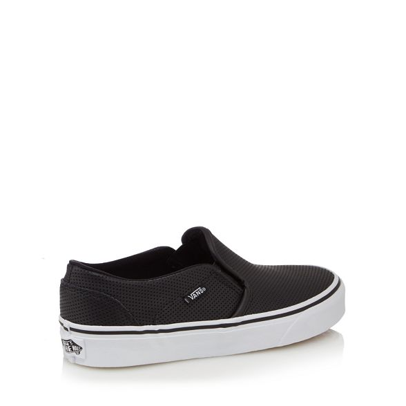 Vans 'Asher' trainers slip Black on vOvq6aPw