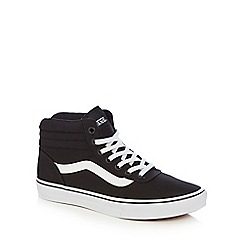 Vans - Black 'Maddie' high-top trainers