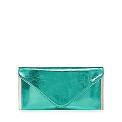Faith - Green 'Promise' clutch bag