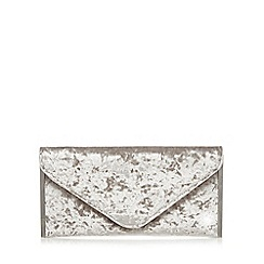 Faith - Grey 'Promise' clutch bag