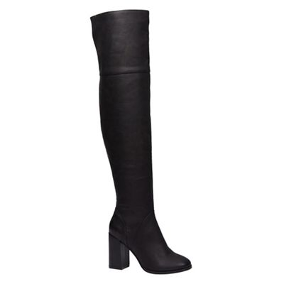 Call It Spring   Ladies High Flared Heel Boots by Call It Spring