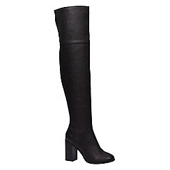 Call It Spring - Ladies high flared heel boots