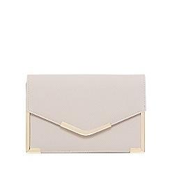 Call It Spring - Grey 'Galalenna' clutch bag