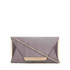 Call It Spring - Grey 'Collie' clutch bag