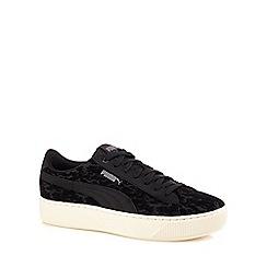 Puma - Black vikky platform vr trainers
