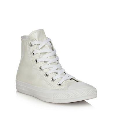Converse - White 'CTAS Ox' high tops