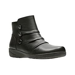 Clarks - Black 'Cheyn Anne' ankle boots