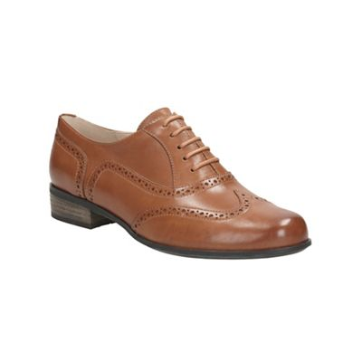 Clarks   Dark Tan 'hamble Oak' Shoes by Clarks