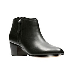 Clarks - Black 'Maypearl Alice' ankle boots
