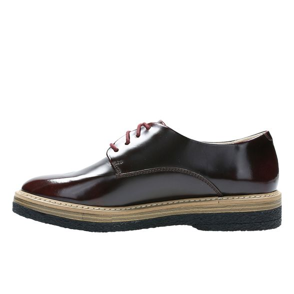 Leather shoes 'Zante Black Clarks Zara' Lace up 5w1ZqPxYE