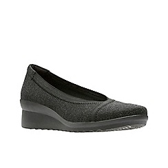 Clarks - Black 'Caddell Dash' shoes