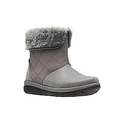 Clarks - Dark grey 'Cabrini Reef' boots