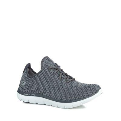 Skechers - Dark grey 'Flex Appeal 2.0 Bold Move' trainers