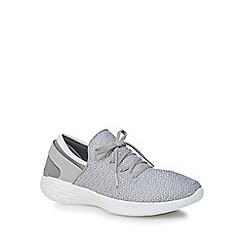 Skechers - Light grey 'You Inspire' trainers