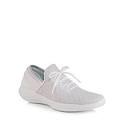 Skechers - White 'You Inspire' trainers