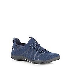 Skechers - Blue 'Breathe Easy Viva' trainers