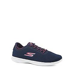 Skechers - Navy 'Go Step Lite Dashing' trainers