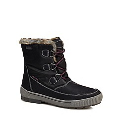 Skechers - Black 'Woodland' snow boots