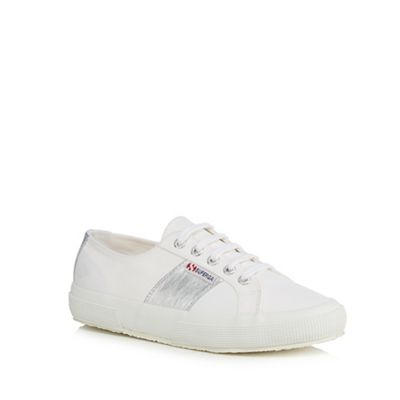 Superga - White 'Cotcotmetu' trainers Fashionable and eye-catching shoes