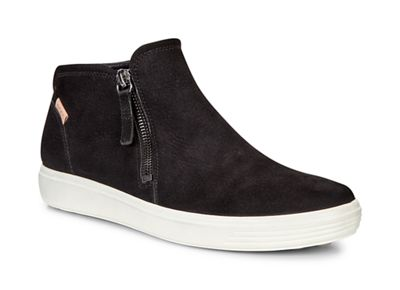 Ecco - Black soft 7 ankle-high sneakers