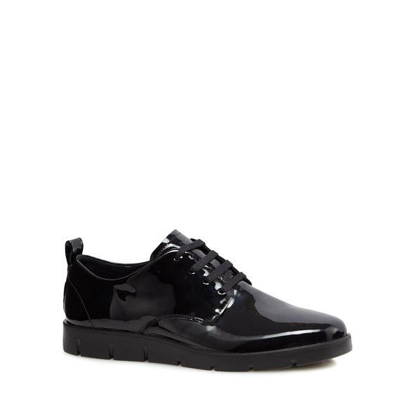 Ecco patent 'Bella' leather up lace Black shoes 66wrqvUH