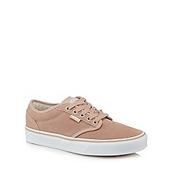Vans - Pink suede 'Atwood' trainers