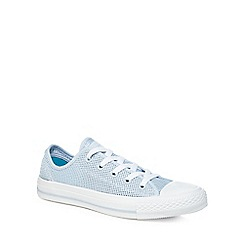 Converse - Light blue 'Chuck Taylor All star Ox' lace up trainers