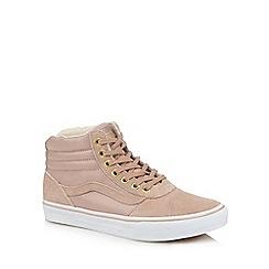 Vans - Pink 'Maddie' high-top trainers