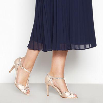 ac3466844597 1 Jenny Packham Light pink  Pasha  high stiletto heel ankle strap sandals