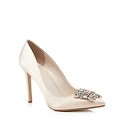 No. 1 Jenny Packham - Light pink 'Pricilla' high stiletto heel court shoes
