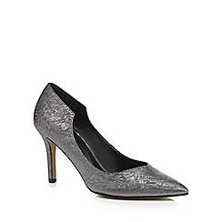 J by Jasper Conran - Metallic 'Jolie' high stiletto heel pointed pointed shoes