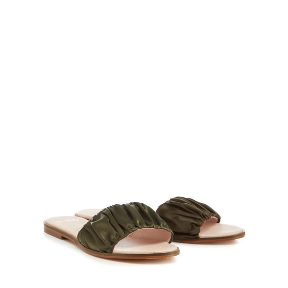 Khaki flops flip satin Faith 'Jinnie' anpWFdqxc