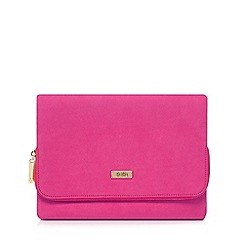 Faith - Pink 'Pring' clutch bag