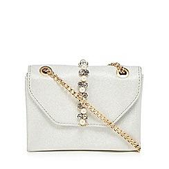 Faith - Ivory 'Pearl' embellished cross body bag