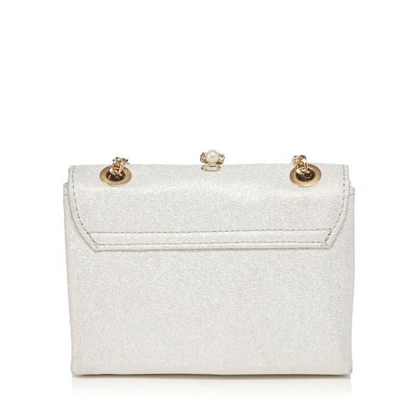 Faith body bag embellished 'Pearl' cross Ivory w6xT7qR