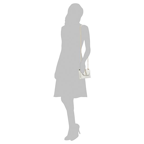 'Pearl' Ivory Faith embellished cross body bag SCawvq