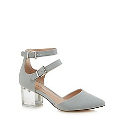 Call It Spring - Pale blue 'Larerawiel' mid block heel pointed shoes
