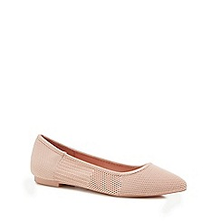 Call It Spring - Pink knitted 'Troawen' pumps
