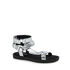 Call It Spring - Silver 'Proresien' ankle strap sandals