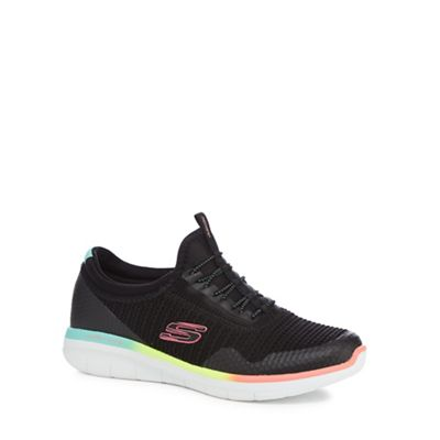 Skechers - Black 'Synergy 2.0 Mirror Image' trainers