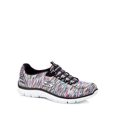 Skechers - Multi-coloured 'Empire' slip-on trainers