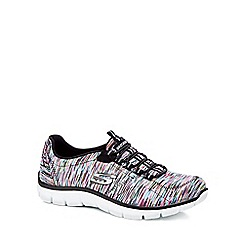 Skechers - Multi-coloured 'Empire' slip-on trainers
