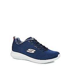 Skechers - Navy 'Ultra Flex First Choice' trainers