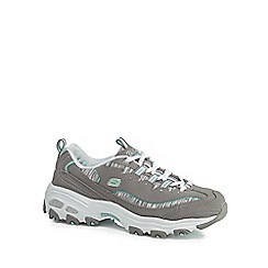 Skechers - Grey 'D'Lites Interlude' trainers