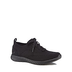 Skechers - Black 'Wave' trainers