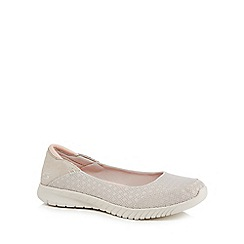 Skechers - Natural knit 'Wave Lite' pumps