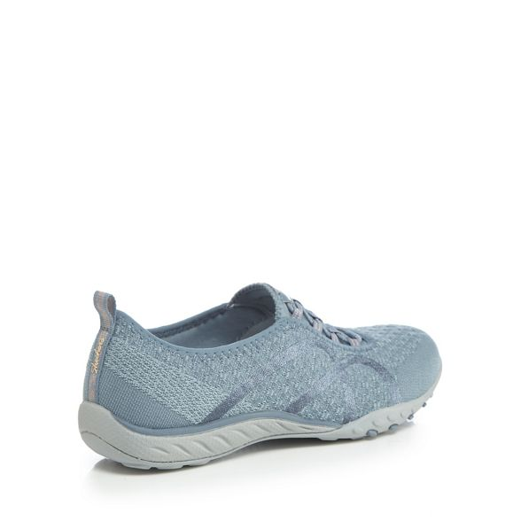 'Breathe Blue Skechers Fortune on Easy slip Knit' trainers Tpnw4q5