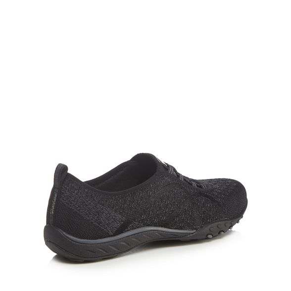 trainers Black Easy 'Breathe slip Knit' Fortune on Skechers 0wHAFqnq