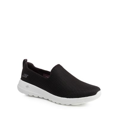 Skechers - Black 'Go Walk Joy' slip-on trainers